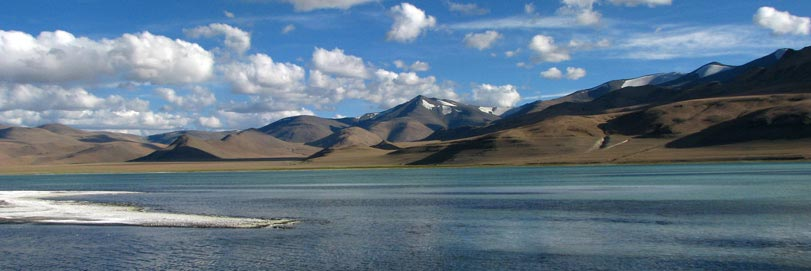 Tsomoriri Lake in Ladakh